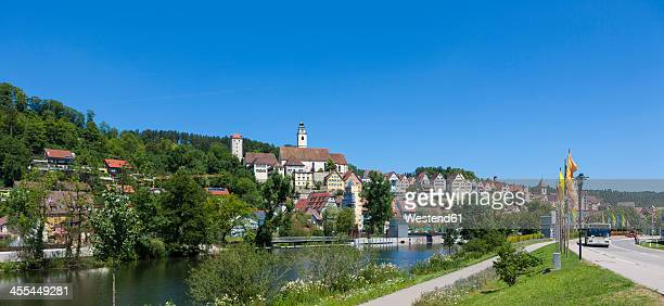 Germany, Baden Wuerttemberg, View of Horb am Neckar at Black Forest