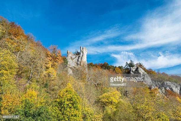 Germany, Baden Wuerttemberg, View of Neuschwanstein Castle