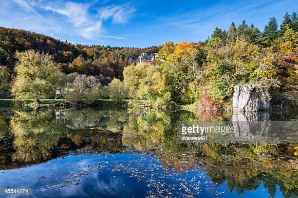 Germany, Baden Wuerttemberg, View of Upper Danube Nature Park