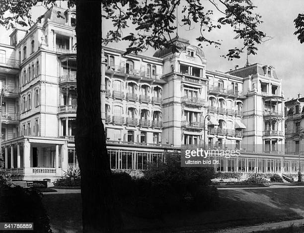 Germany BadenWuerttemberg BadenBaden Front view of the Hotel Stefanie Published by 'Dame' 18/1923Vintage property of ullstein bild