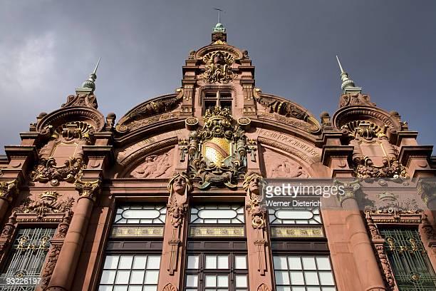 Germany, Baden-Wuerttemberg, Heidelberg, University Library, close-up