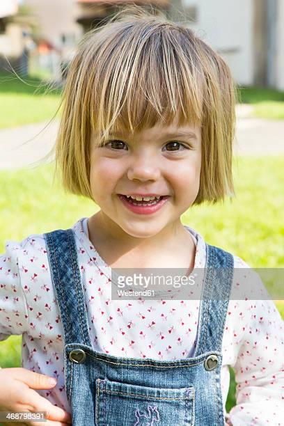 Germany, Baden-Wuerttemberg, portrait of little girl