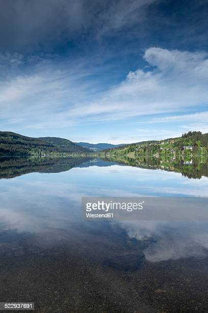 Germany, Baden-Wuerttemberg, Titisee-Neustadt, view over Titisee