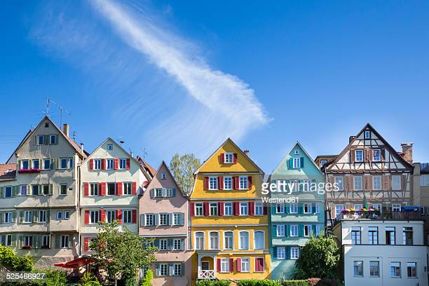 Germany, Baden-Wuerttemberg, Tuebingen, Row of houses