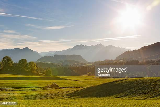 Germany, Bavaria, Chiemgau, Samerberg near Grainau