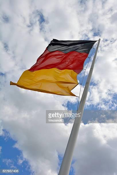 Germany, Bavaria, German flag