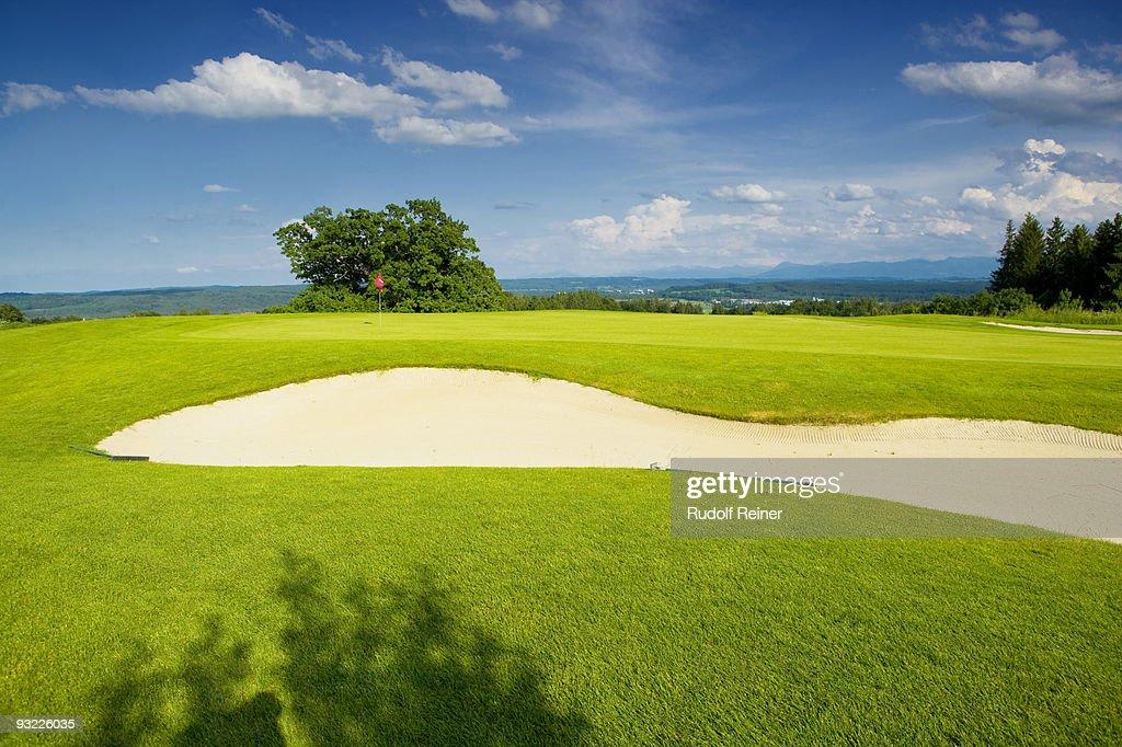 Germany, Bavaria, Golf course