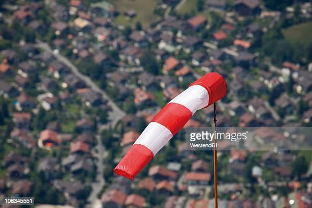 Germany, Bavaria, Mittenwald, Wind sock