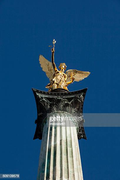 Germany, Bavaria, Munich, Angel of Peace monument