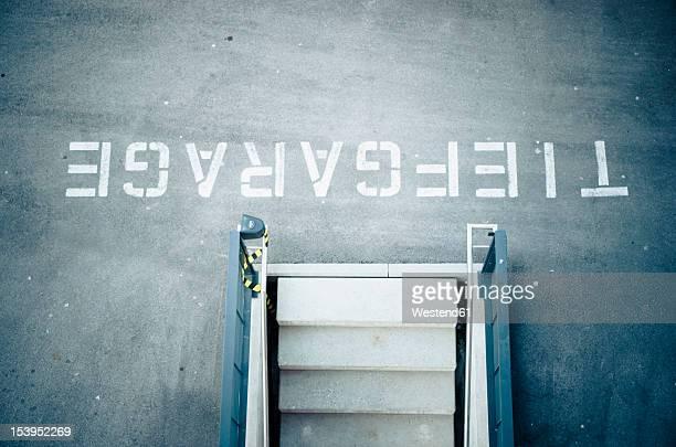 Germany, Bavaria, Munich, Garage basement