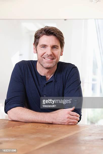 Germany, Bavaria, Munich, Portrait of mature man, smiling