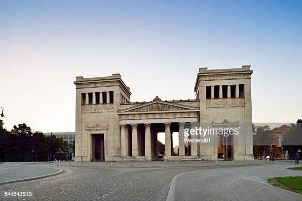 Germany, Bavaria, Munich, Propylaea at Koenigsplatz