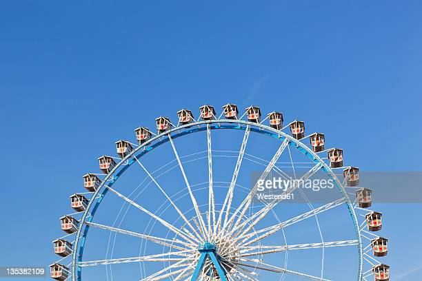 Germany, Bavaria, Munich, View of part of ferris wheel against clear sky