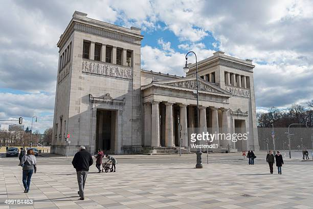 Germany, Bavaria, Munich, view to Propylaea at Koenigsplatz