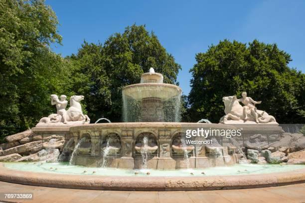 Germany, Bavaria, Munich, Wittelsbach Fountain