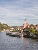 Germany, Bavaria, Passau, historic city center at River Danube