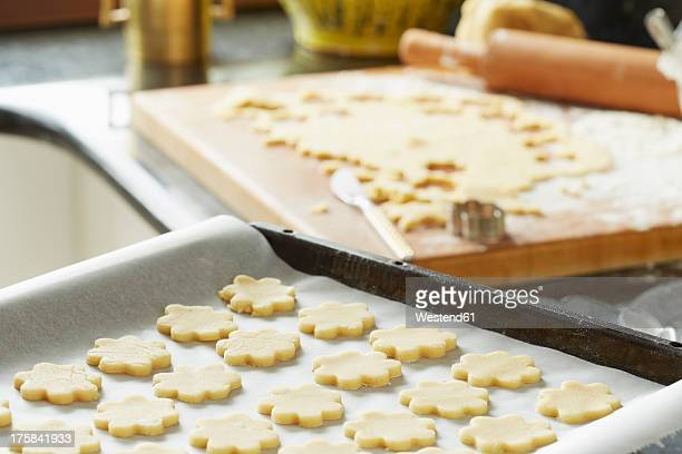 Germany, Bavaria, Preparation of Christmas cookies