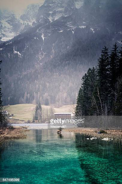 Germany, Bavaria, Ramsau, Hintersee
