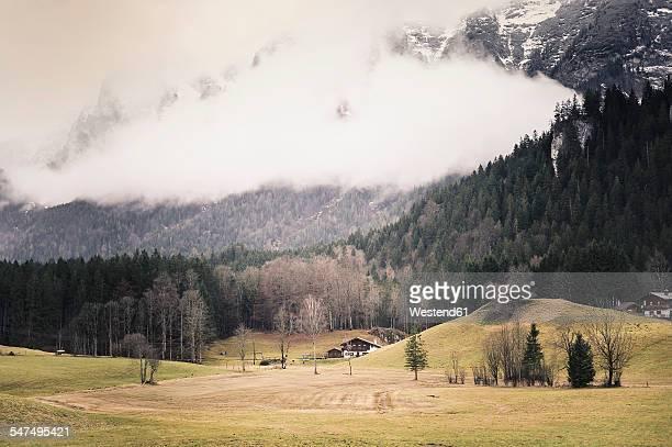 Germany, Bavaria, Ramsau, rural landscape