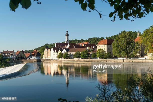 Townscape Landsberg Stock Photos and Pictures