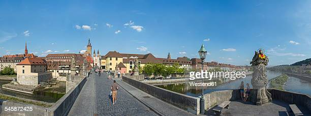 Germany, Bavaria, Wuerzburg, Old Main Bridge