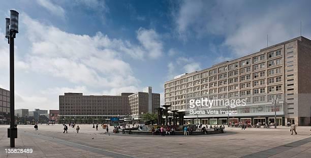 Germany. Berlin. Alexanderplatz.