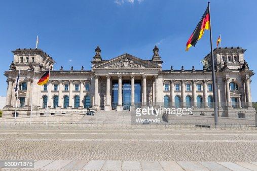 Germany, Berlin, Berlin-Tiergarten, Reichstag building