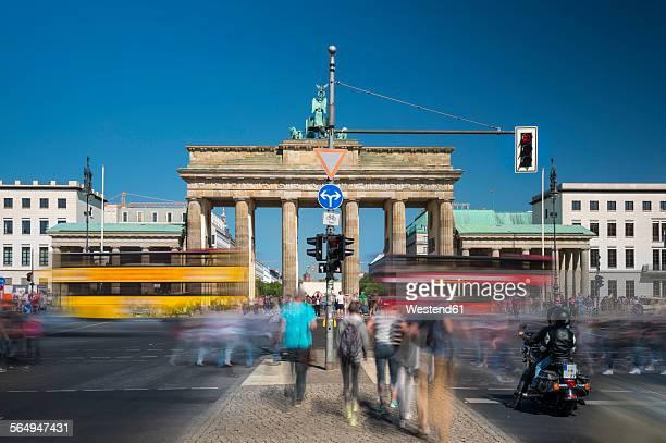 Germany, Berlin, Brandenburg Gate, Platz des 18. Maerz