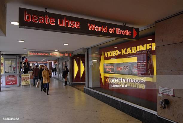 Germany Berlin Charlottenburg Beate Uhse video World of erotic