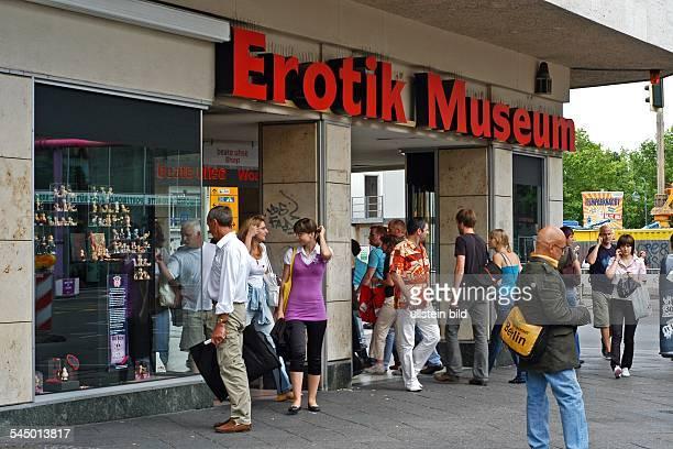 Germany Berlin Charlottenburg Erotic Museum Beate Uhse at Joachimsthaler Strasse / Kantstrasse