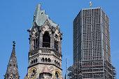 Germany, Berlin, Charlottenburg, Kaiser Wilhelm Memorial Church