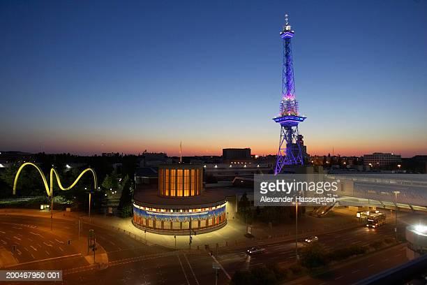 Germany, Berlin, Charlottenburg-Wilmersdorf district, Radio Tower