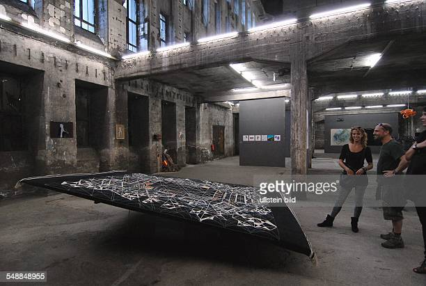 Germany Berlin Friedrichshain exhibition ALLE Workkers Pearls in the Berghain techno club