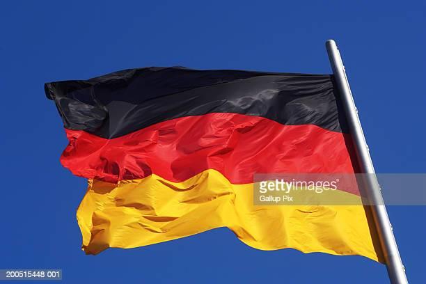 Germany, Berlin, German flag