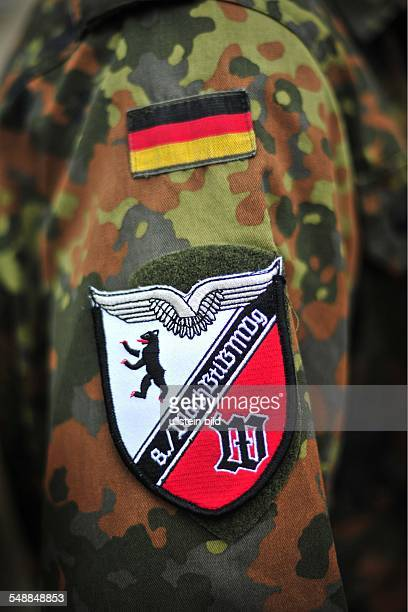Germany Berlin guard in the JuliusLeberbarracks