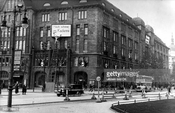 Germany Berlin KaDeWe department store Around 1930
