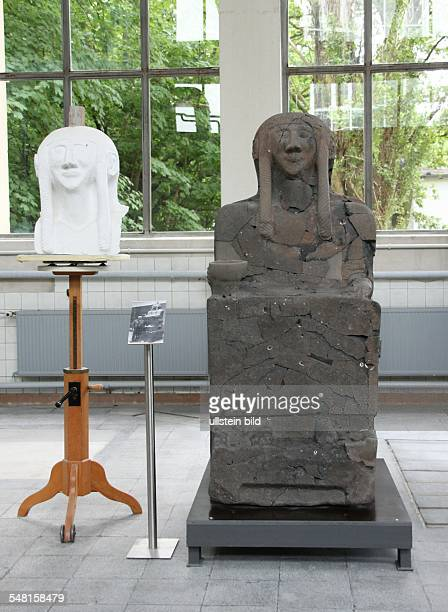 Germany Berlin Koepenick reconstructions of the archaeological collection from Max von Oppenheim which was destroyed in the second world war in the...