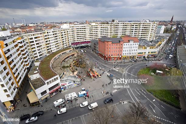 Germany Berlin Kreuzberg Social housing at the place 'Kottbusser Tor'called 'Neues Kreuzberger Zentrum'