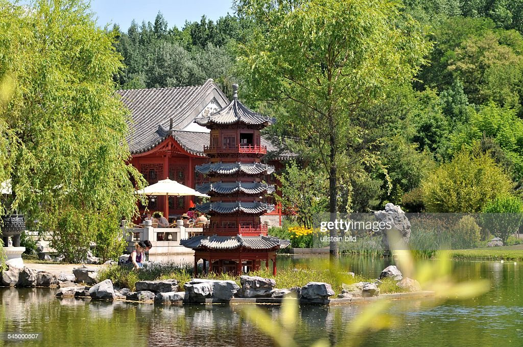 Germany   Berlin   Marzahn (Marzahn Hellersdorf): Tea House In The Chinese