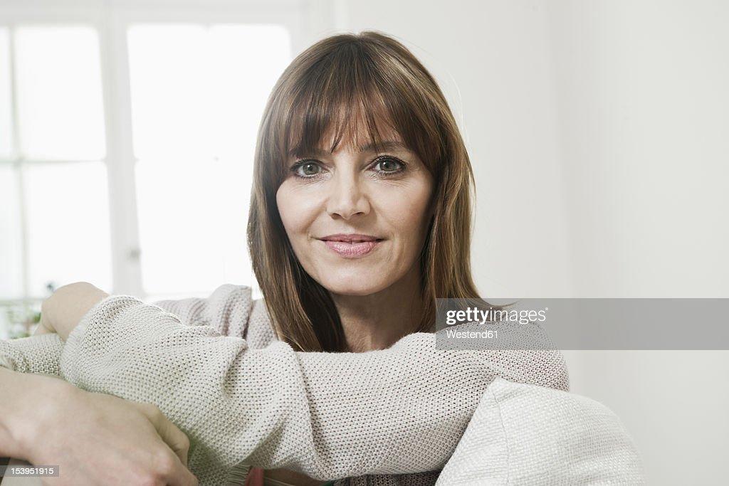 Germany, Berlin, Mature woman smiling, portrait