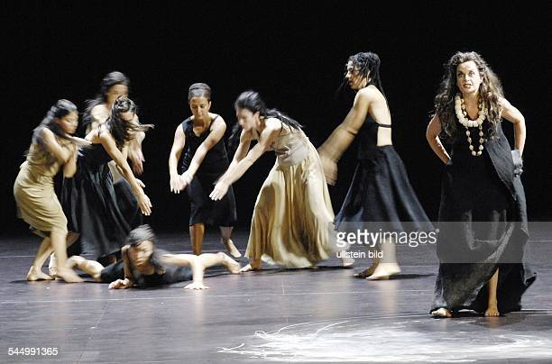 Germany Berlin 'Medea' by the Company Sasha Waltz Guests Caroline Stein as Medea