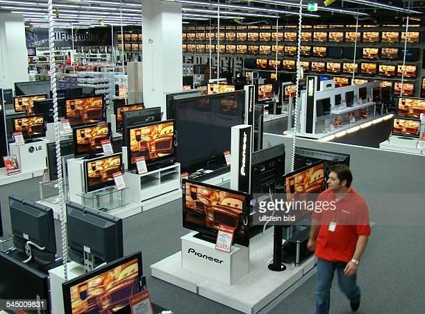 Germany Berlin media market MediaMarkt in the shopping center 'ALEXA' at Alexanderplatz