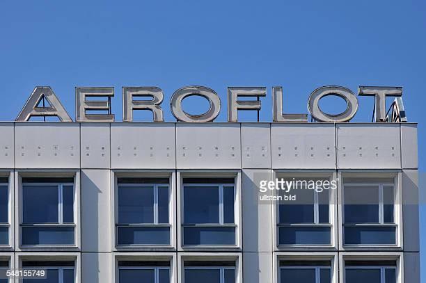 Germany Berlin Mitte Aeroflot Unter den Linden