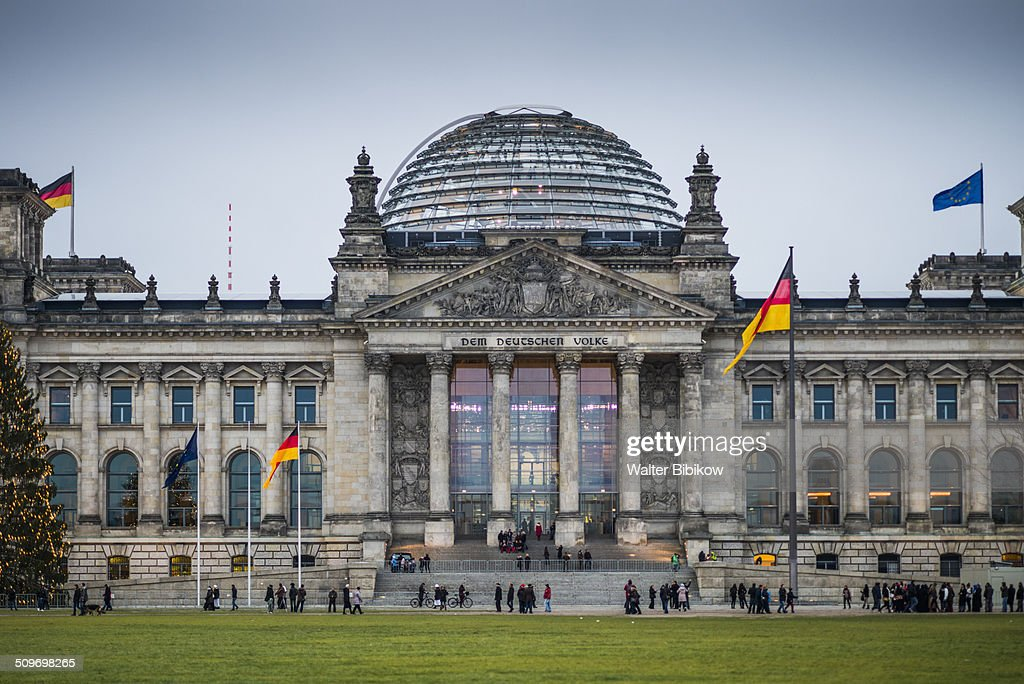 Germany, Berlin, Mitte, The Reichstag