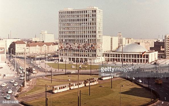 germany berlin ost berlin east berlin alexanderplatz in the background 39 house of the. Black Bedroom Furniture Sets. Home Design Ideas
