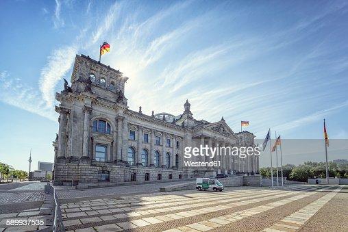 Germany, Berlin, Reichtstag Building