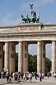 Germany, Berlin, the Brandenburg Gate.