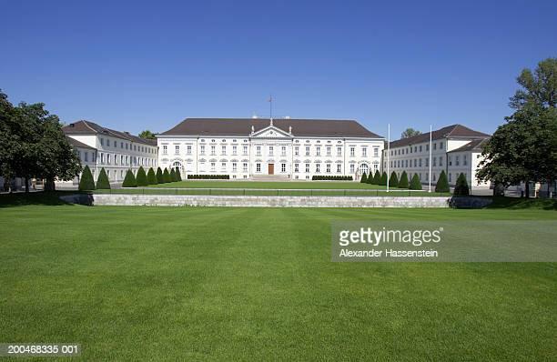 'Germany Berlin, Tiergarten Park, Bellevue Castle'