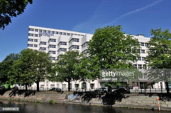 Germany berlin tiergarten shellhouse former headquarters of the gasag