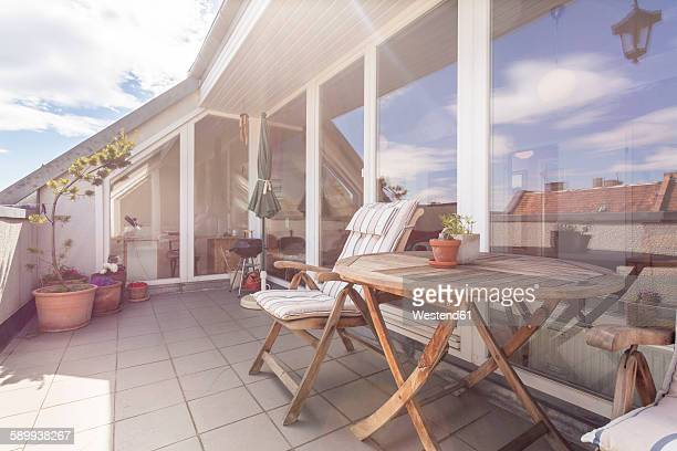 Germany, Berlin, Vacation home with rooftop terrace